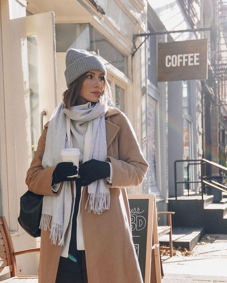 """Aritzia on Instagram: """"It's almost December, bundle accordingly. Lots of warm winter accessories are waiting for you in the Gift Edit. – 📸: J…"""