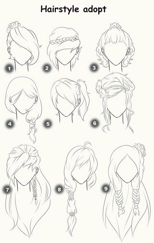 Imagen de drawing, hair, and draw