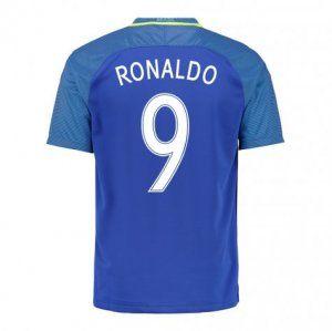 2016 Brazil Soccer Team Ronaldo 9 Away Replica Jersey [D975]