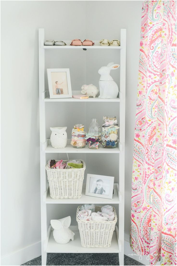 We wanted to design a simple and sweet paisley nursery that would be the perfect little girl's room for our daughter.