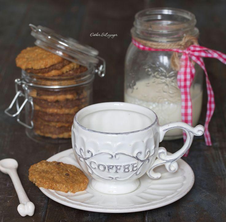 Полезное овсяное печенье: шоколадное и ванильное | Рецепты правильного питания - Эстер Слезингер