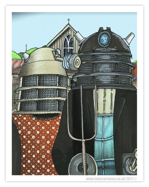 "kinky-geeks: ""Envisioning a Positive Future"" (via Day 57: American Dalek 