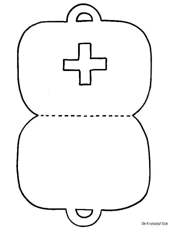 dokterskoffertje knutselen met peuters met ziek