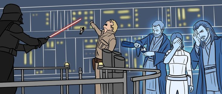 """forcearama: """"OMG """"<<Obi over there just DONE. He'd loose the will to live if he weren't already dead."""