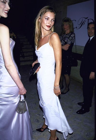 Happy Birthday Queen Kate! <3 See 7 of her best party dress moments here- http://asos.do/ppDGoS   (Pictured: Kate Moss at the 1995 CFDA's)