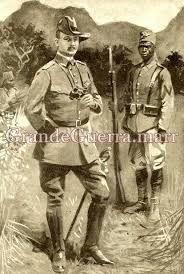 General von Lettow Worbeck, comandante das tropas alemãs na África Oriental Alemã. Adversário formidável dos Aliados.