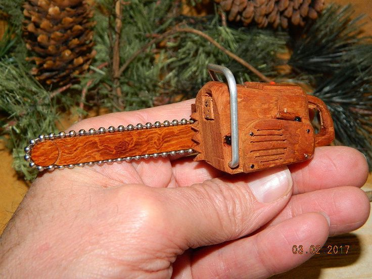 Small Chainsaw Cottonwood Bark Wood Carving Mini Chain Saw Carving Power Tools Wood Carvings Logging Forest Service Ranching Western Art by dakotagypsy on Etsy