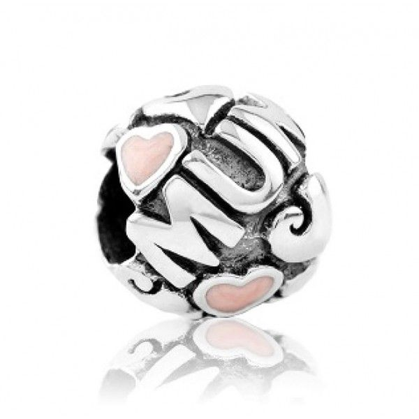 LKE012 Evolve Charm Love Heart - Pink Enamel - Sterling Silver - Free Delivery - 5 Year Guarantee #Mothersday #charms #pandora