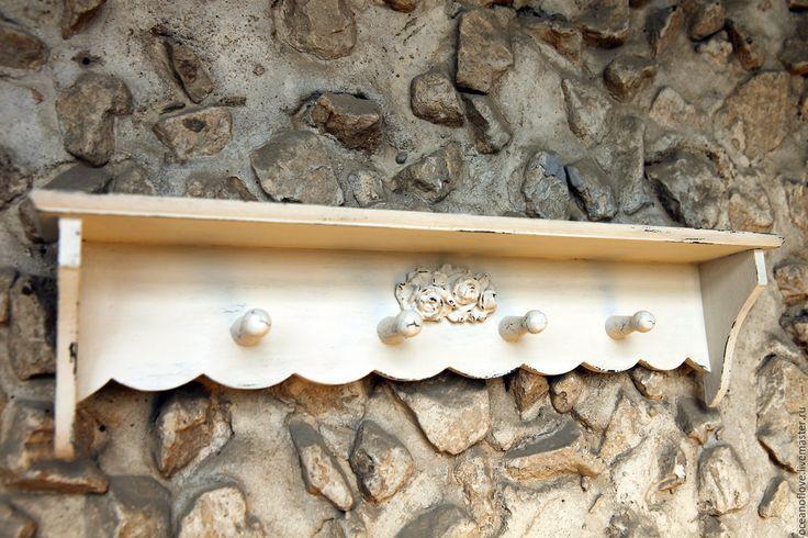 Buy Shelf-hanger From Provence - white, linen colour, provence, shabby chic