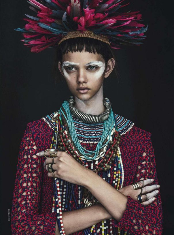 global eclectic style: Marina Nery for Vogue Australia April 2014