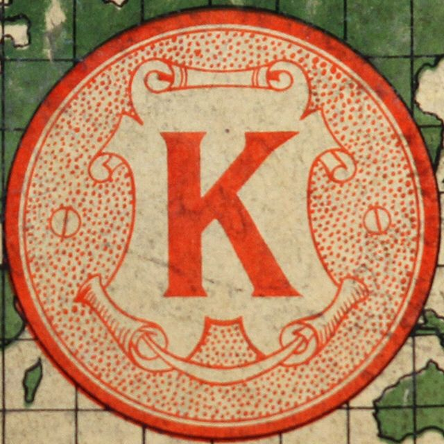K is the letter of handling authority. If you have created a pattern in your life of challenging everyone and everything to your own detriment, the letter K can alert you to those times when rebelling may not be necessary or useful or produce the results you want. --Vimala Rodgers