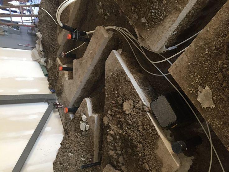 running underground lines