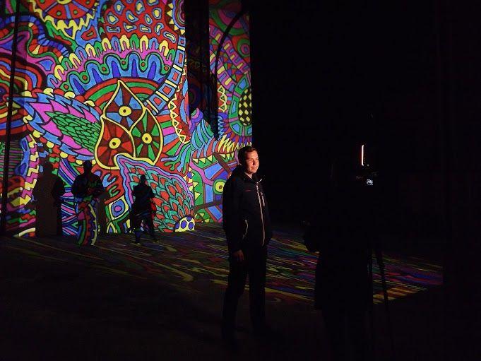 Héttorony fesztivál - Night Projection fényfestés - Lendva#héttoronyfesztivál #Lendva #Lendava #Makovecz #NightProjection #fényfestés #raypainting #visuals