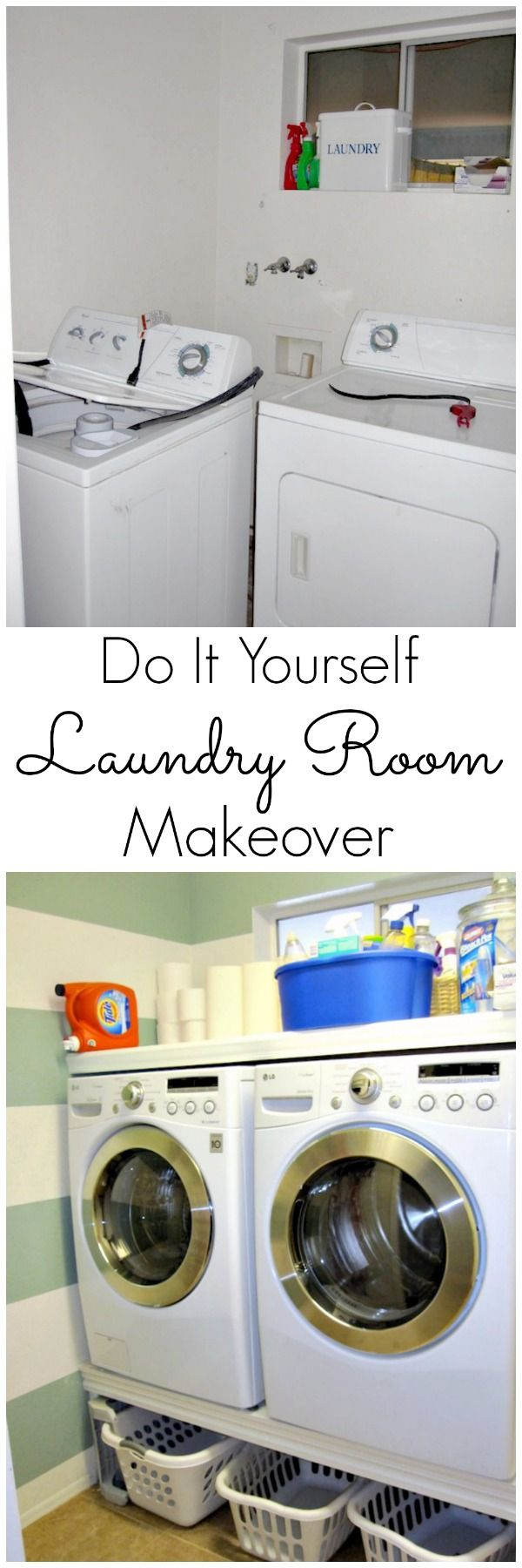 Easy Laundry Room Makeovers 8 Best Laundry Room Ideas Images On Pinterest