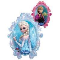 Frozen supershape mylar/foil balloon, 2 sided