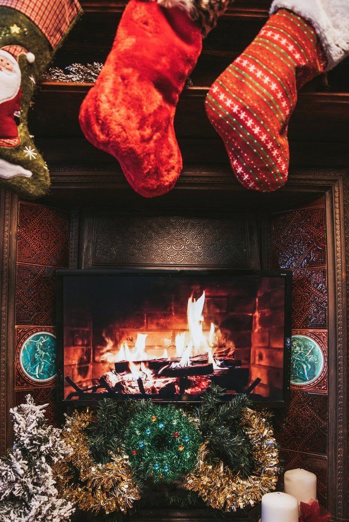 The Stockings Were Hung by the Chimney With Care.....