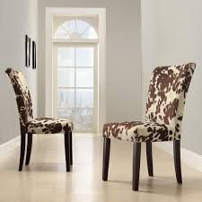 chair cow hide side chairs dining chairs dining rooms living room