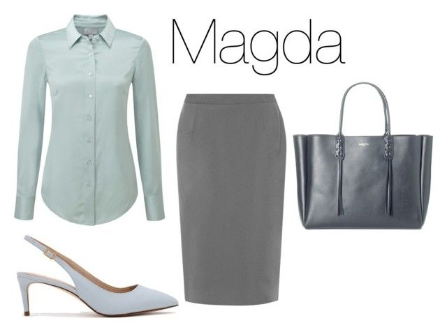 """""""Magda  chłodne lato"""" by patsythehunter on Polyvore featuring moda, Pure Collection, WearAll, CHARLES & KEITH i Lanvin"""