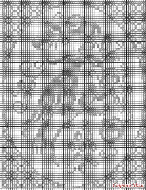 Филейное вязание - 2