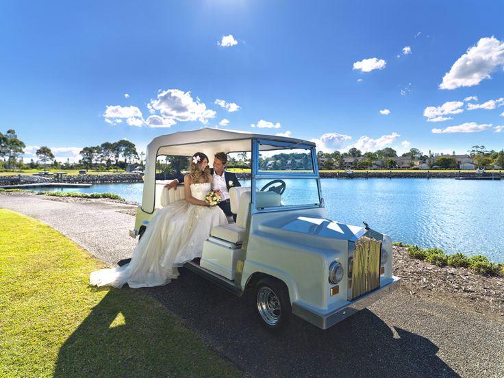 Rolls Royce Wedding Buggy