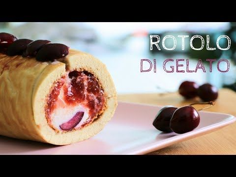 YouTube_Pane&Sale rotolo di gelato alle ciliegie
