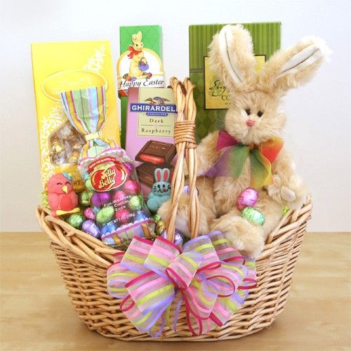 28 best easter gift baskets images on pinterest easter gift easter sweets and treats bunny gift basket negle Gallery