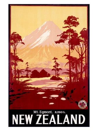 Mount Egmont/Mount Taranaki, New Zealand