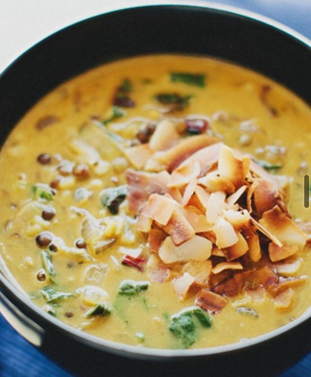 coconut lentil soup | sprouted kitchen EXCELLENT