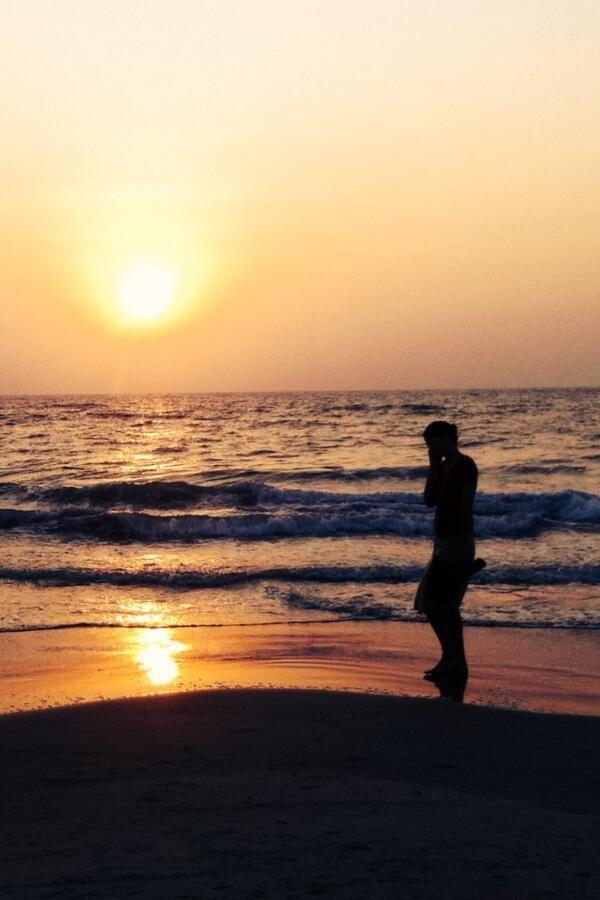 Sunset luxury in Goa, India