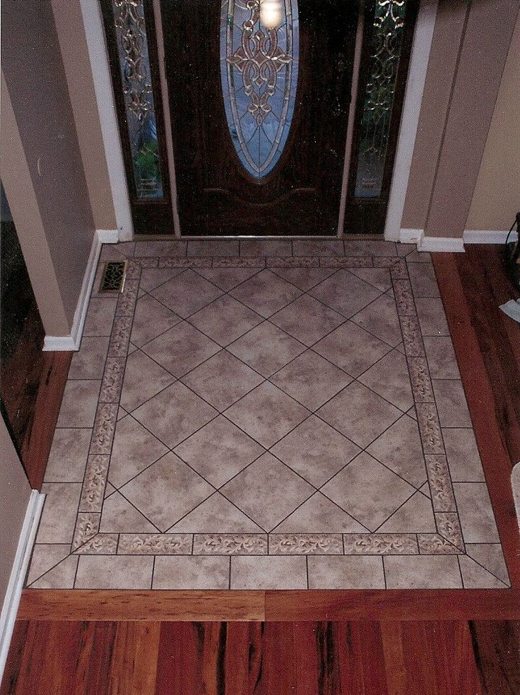 51 best images about foyer on pinterest ceramic floor for Entrance flooring ideas