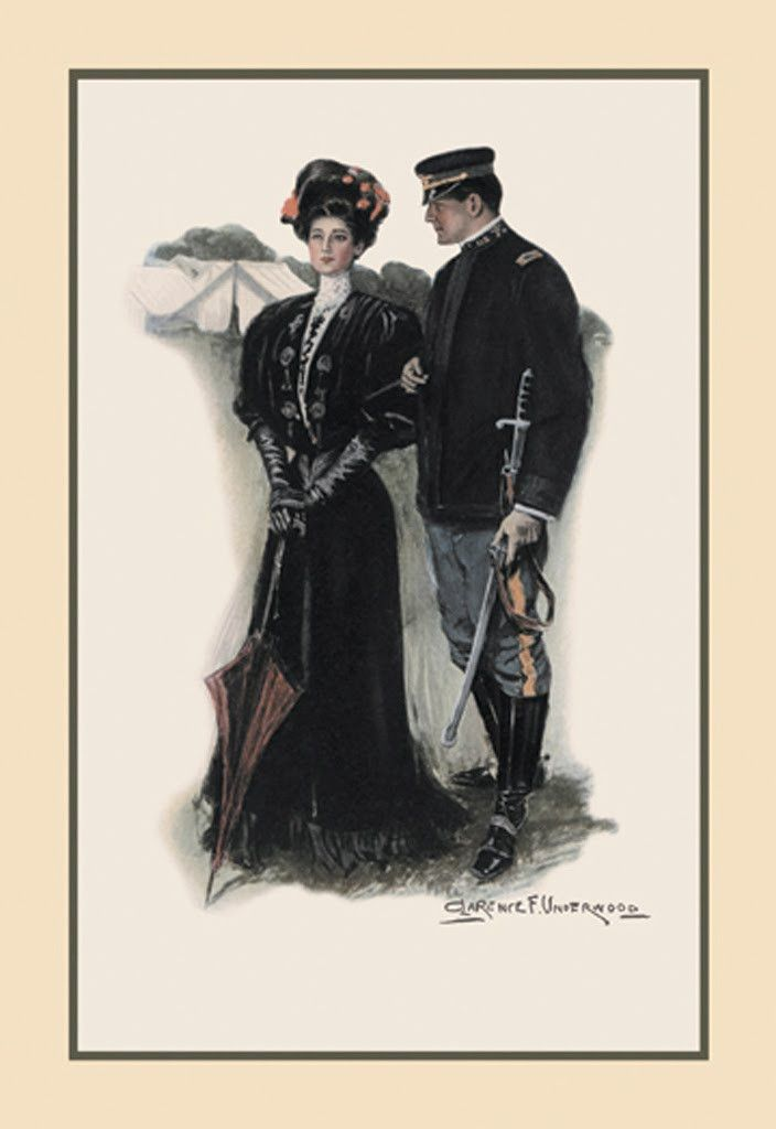 The General and the Lady, by Clarence F. Underwood