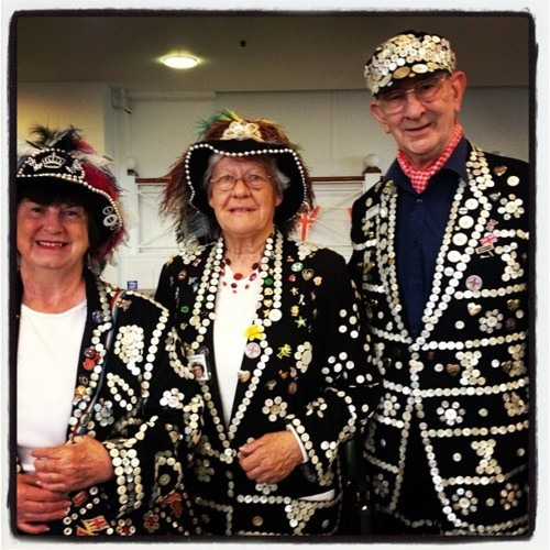Pearly Kings and queens of Newham