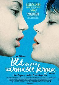 Blå Är Den Varmaste Färgen. Den tunisisk-franske regissören Abdellatif Kechiche är tillbaka med en storslagen kärleksskildring. Guldpalmvinnaren 2013 är en lika omtalad som hyllad berättelse om ung kärlek mellan lesbiska tonåringar. 16-åriga Adèle är ung, oskuldsfull och inte helt säker på vad hon vill göra av sitt liv