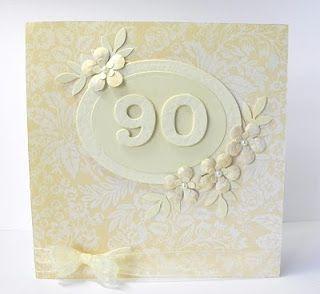 Lou Lous Cards: 90th Birthday card