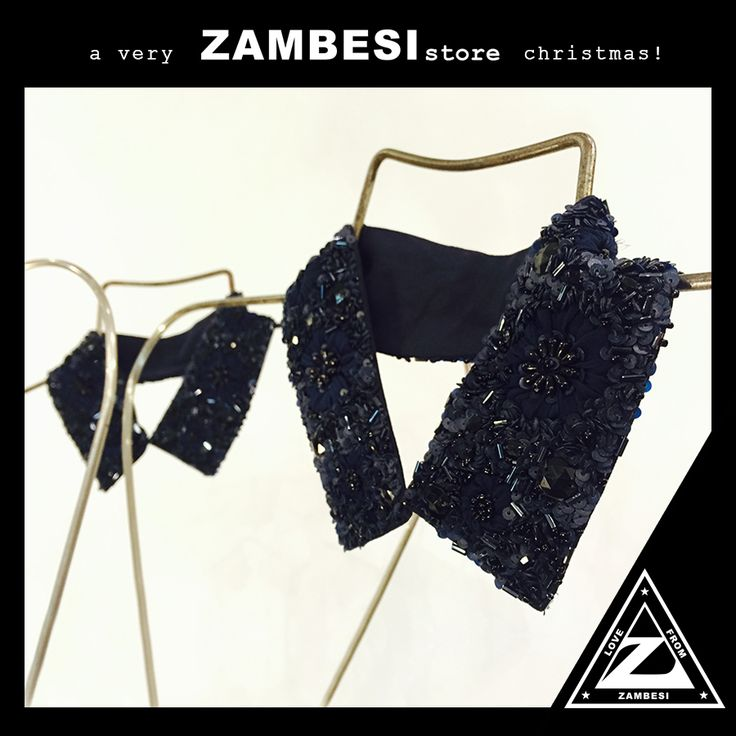 """""""my pick for xmas is the beautiful zambesi beaded choker collar. a timeless piece that is perfect to add a touch of glamour to any festive season outfit."""" - emma, ZAMBESI ponsonby #zamfam  the #zambesi choker is available instore and online (online christmas delivery no longer guaranteed) here: http://www.zambesistore.com/ProductDetail.aspx?CategoryId=90&ProductId=52448&Colour=QUARTZ x"""