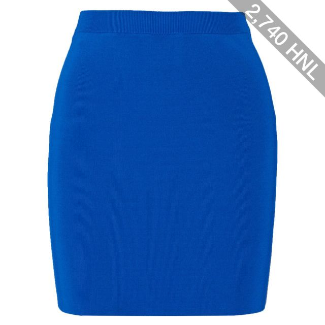 T by Alexander Wang - Stretch Ribbed-knit Mini Skirt