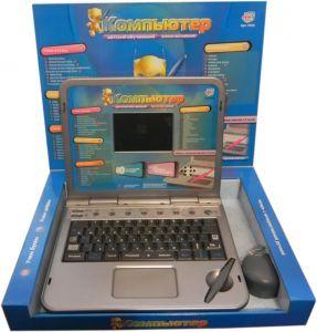 Детский развивающий ноутбук с интерактивной ручкой от  компании «Joy Toy» не только спасёт Вашего малыша от скуки, но и станет верным помощником в изучении английского и русского языка