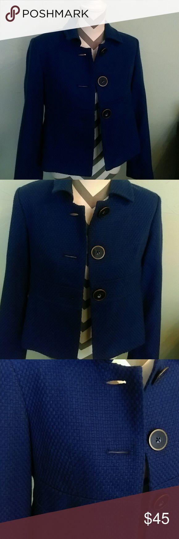 SALE! Coletane blue tweedlike blazer SALE! Coletane blue blazer  Lined blazer  Perfect condition!  Perfect condition! Coletane Jackets & Coats Blazers