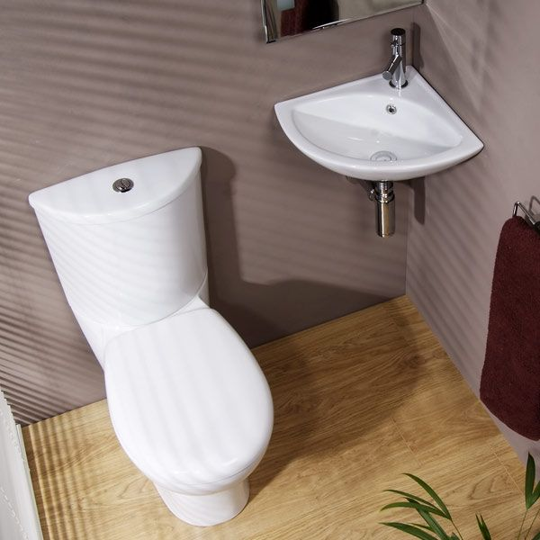 17 best ideas about corner toilet on pinterest bathroom corner basins small shower room and - Glass cloakroom basin ...