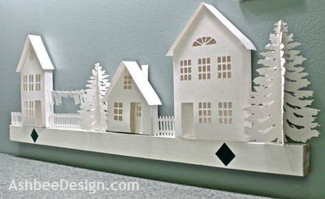 Tutorial for Tiny Houses with Silhouette by AshbeeDesign.com