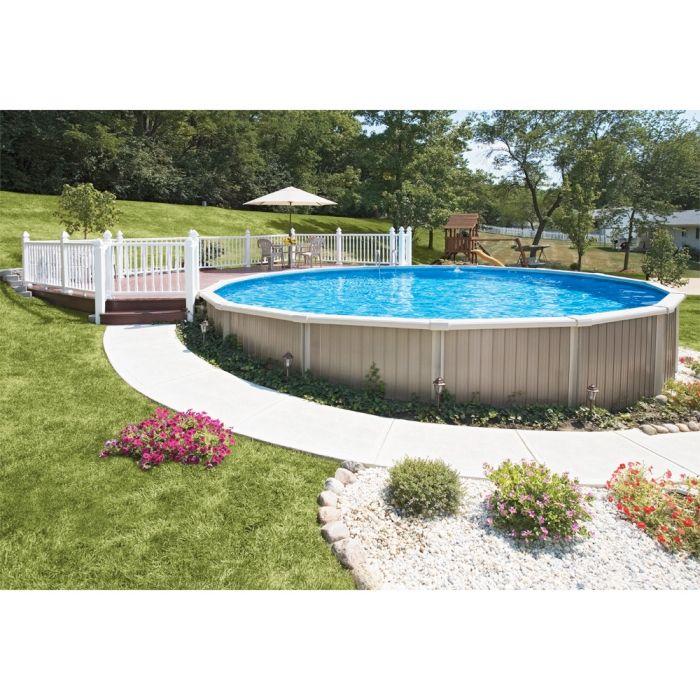 1000 id es sur le th me piscine semi creus e sur pinterest piscine hors sol bois piscines et - Piscine semi creusee le mans ...