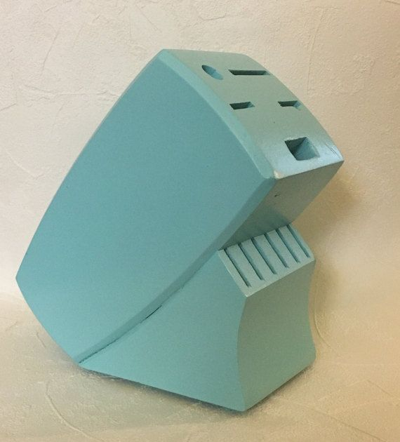 Painted Knife Block: 1000+ Ideas About Knife Block On Pinterest