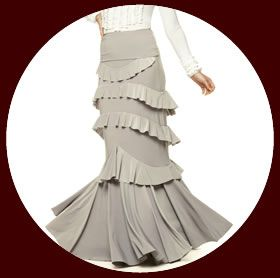 Simone flamenco skirt $118. Want this skirt. Love it!