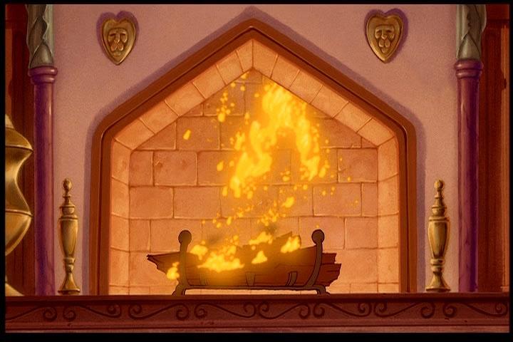 Details Of Fireplace Inside Castle From Disney S Quot Beauty