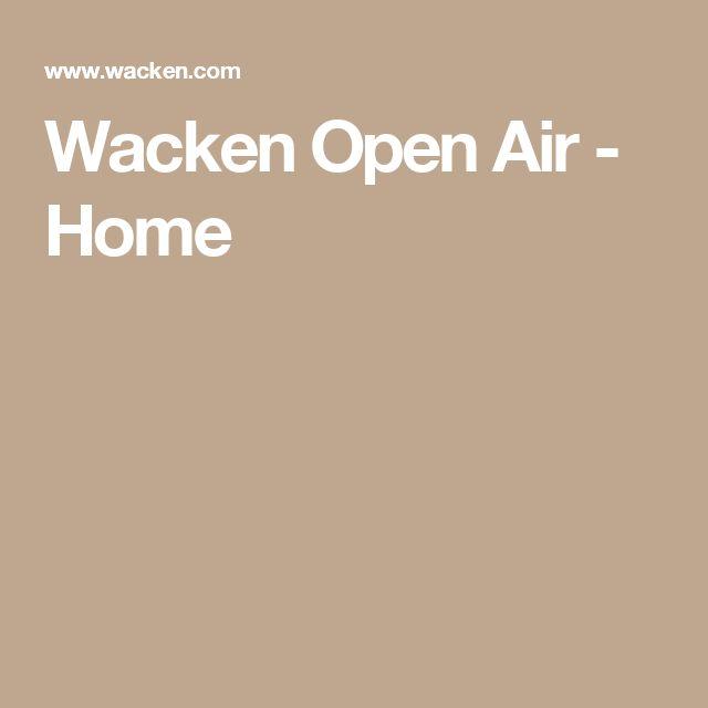 Wacken Open Air - Home