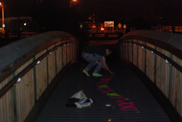Hanging the 'Don't Kill Yourself' sign off a bridge at Huddy Park in downtown Toms River.     motivational pictures