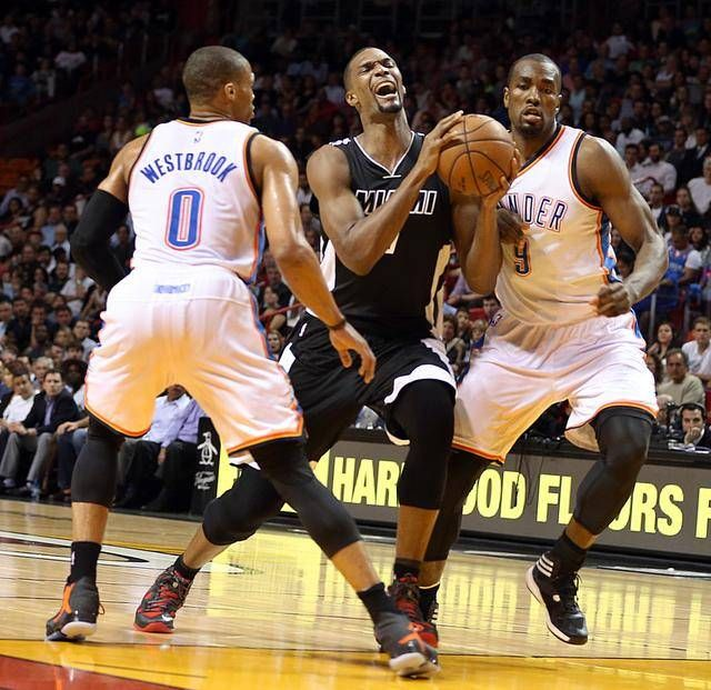 Oklahoma City Thunder vs. Miami Heat Basketball Live Stream Live match streaming information for Oklahoma City Thunder vs. Miami Heat on Mon, 11/07/16. The Key matchup today is Oklahoma City Thunder vs. Miami Heat at Chesapeake Energy Arena in Oklahoma City, OK , Kick off at 7:00 PM ET. Link 1 : Oklahoma City Thunder vs. Miami Heat Basketball Live Stream (Premium HD Streaming Package For Windows, Mac, Android /All...