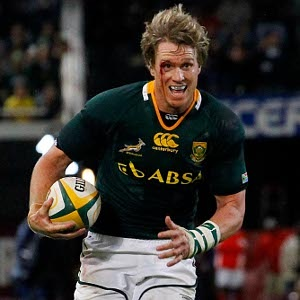 Jean de Villiers 16 June 2012 against England in Durban