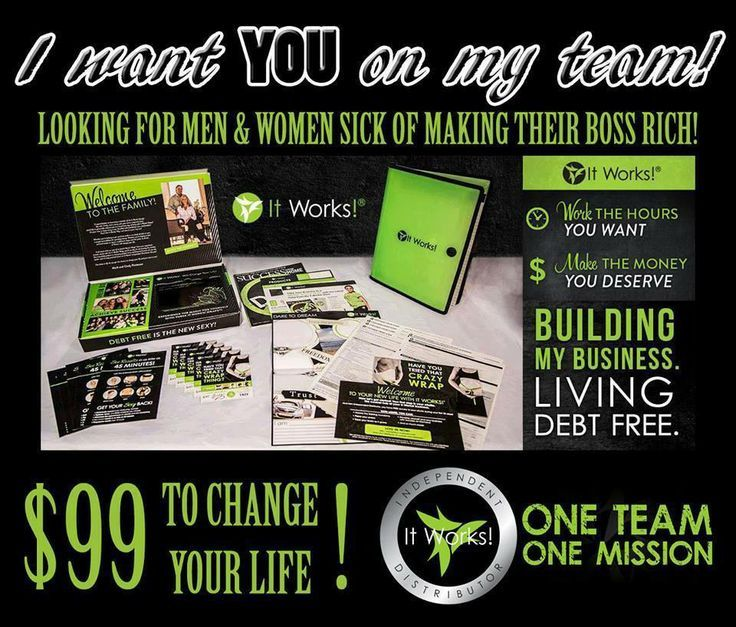 66 best Become Debt Free with It Works! images on Pinterest It - how to call out of work