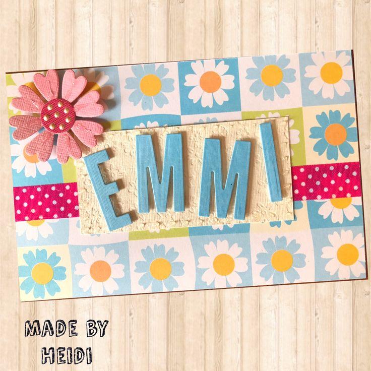 Synttärikortti / Birthday card DIY